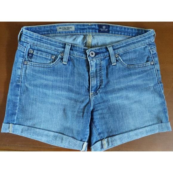 Ag Adriano Goldschmied Pants - AG denim The City Shorts